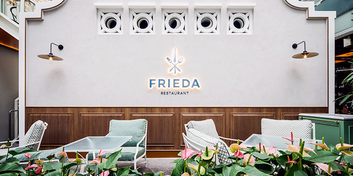Garden from Frieda in City Hall, Singapore