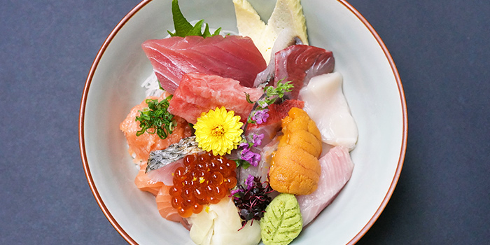 Premium Chirashi from Ishinomaki Izakaya in Tanjong Pagar, Singapore