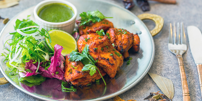 Chicken Tikka from Kurry Corner in River Valley, Singapore