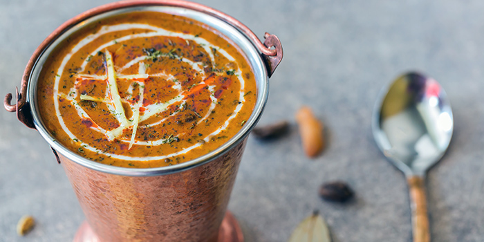 Dal Makhani from Kurry Corner in River Valley, Singapore