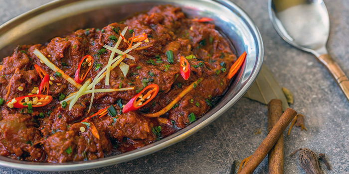 Mutton Masala from Kurry Corner in River Valley, Singapore