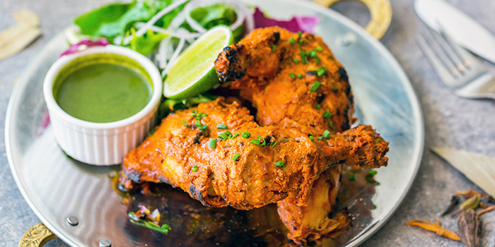 Tandoori Chicken from Kurry Corner in River Valley, Singapore