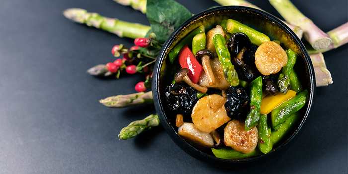 Asparagus & Scallop from Made In Orient by Chef Avenue in Tai Seng, Singapore