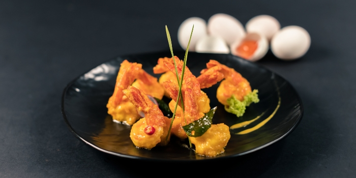 Salted Egg Prawn from Made In Orient by Chef Avenue in Tai Seng, Singapore