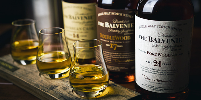 The Balvenie from The Cooperage in Clarke Quay, Singapore