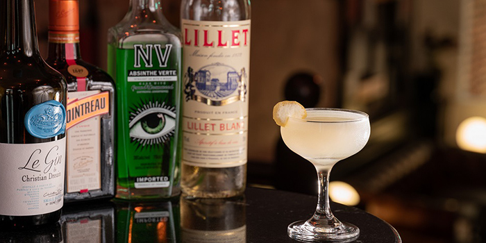 Corpse Reviver from The Lounge Bar in Duxton, Singapore