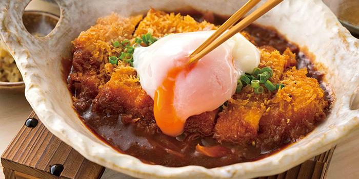Miso Katsu Teishoku from YAYOI Japanese Restaurant at 100AM in Tanjong Pagar, Singapore