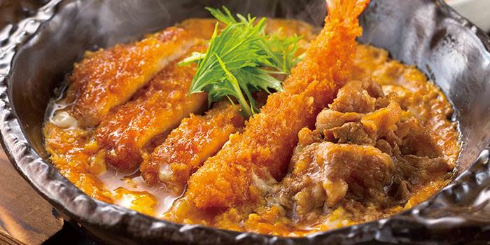 Mix Toji Teishoku from YAYOI Japanese Restaurant at 100AM in Tanjong Pagar, Singapore