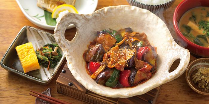 Miso & Saba Shio from YAYOI Japanese Restaurant at 100AM in Tanjong Pagar, Singapore
