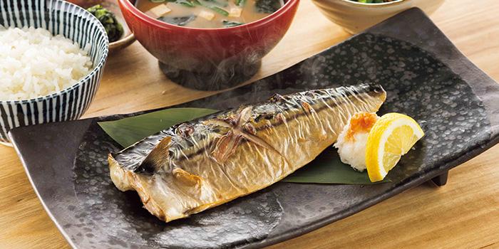 Shioyaki Teishoku from YAYOI Japanese Restaurant at 100AM in Tanjong Pagar, Singapore