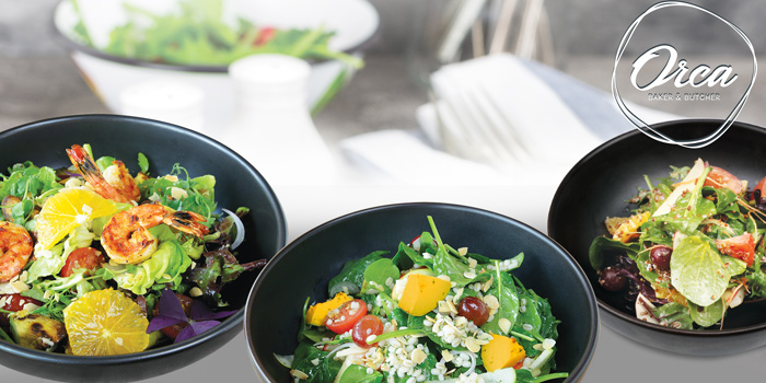 Salad Dishes from Orca Baker & Butcher at Lasalle