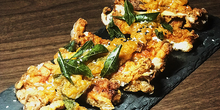 Salted Egg Yolk Chicken from Epiphyte in Outram, Singapore