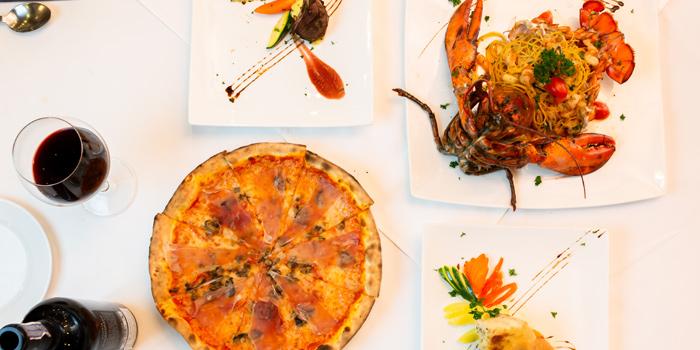 Selection of Food from Sala Rossa at The Grand Building Soi Mahadlekluang 2,Rajdamri Rd Lumpini,Pathumwan Bangkok