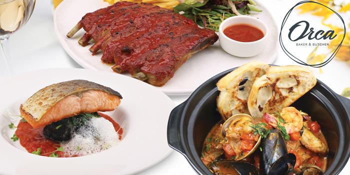 Selection of Food from Orca Baker & Butcher Gateway at Bangsue 4 Floor 162/1-2,168 10 Pracha Rat 2 Rd, Bang Sue Bangkok