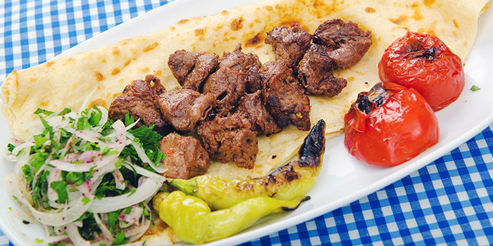 Shish Kebab from Istanblue Meze & Grill Turkish Restaurant in Bugis, Singapore