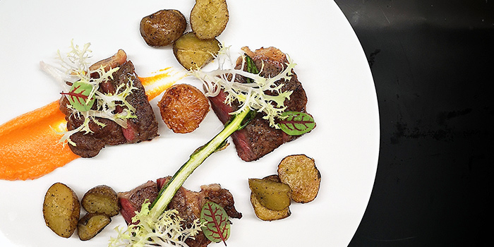 Sirloin Steak from Antoinette (Mandarin Gallery) in Orchard Road, Singapore