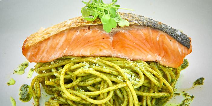 Spaghetti Salmon from D