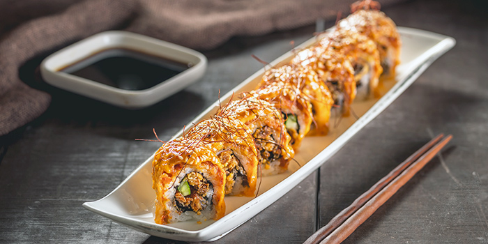 Supaishi Sake Maki from Benihana at Plaza Indonesia in Thamrin, Jakarta