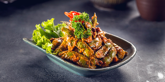 Sweet Spicy Miso Edamamme from Benihana at Plaza Indonesia in Thamrin, Jakarta