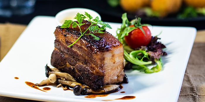 Tender Pork Belly from Mr Punch Public House in City Hall, Singapore
