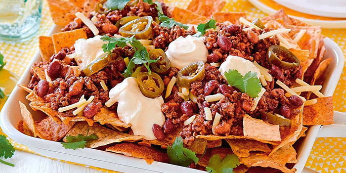 The Ultimate Nachos from The Dog and Bone Cafe in Bedok, Singapore