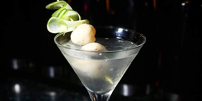 Tokyo Lychee Martini from Epiphyte in Outram, Singapore