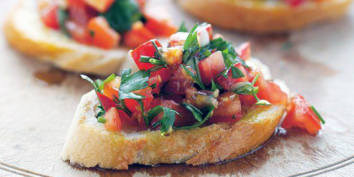 Tomato Bruschetta from The Dog and Bone Cafe in Bedok, Singapore