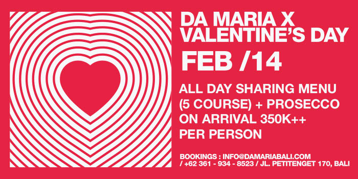 Valentine at Da Maria