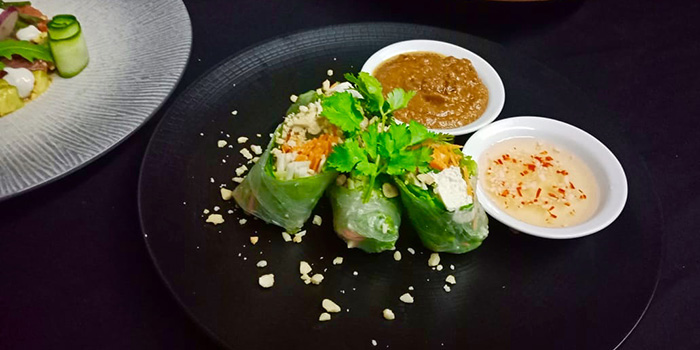 Vietnamese Rolls from Maluku Restaurant, Ubud, Bali