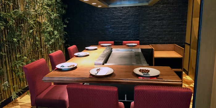 Vip Room of Benihana at Plaza Indonesia in Thamrin, Jakarta