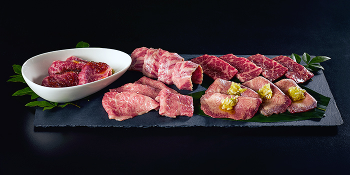 Wagyu Selection from The Gyu Bar in Newton, Singapore