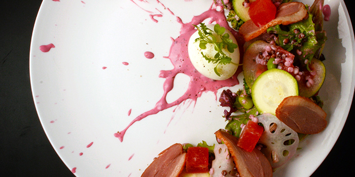 Watermelon Smoked Duck Salad from Antoinette (Mandarin Gallery) in Orchard Road, Singapore