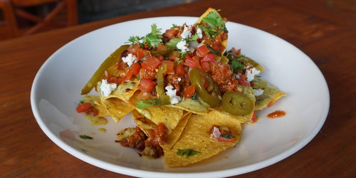 Nachos at Double Doors Bar & Restaurant