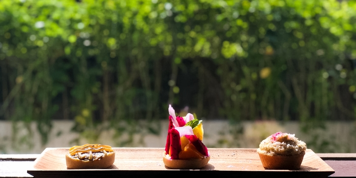 Sweet Tartlet Trilogy at Ti Moris, Seminyak