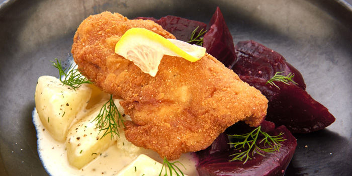 Chicken Schanitzel  from D