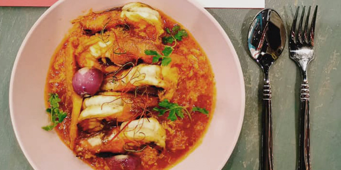 Singapore Style Chili Prawns from Enjoy Eating House & Bar in Jalan Besar, Singapore