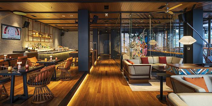 Upper Lounge Area at SugarSand Seminyak, Bali