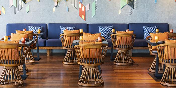 Upper Lounge Area from SugarSand at Seminyak, Bali