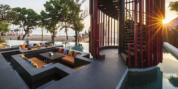 Sunken Lounge at SugarSand Seminyak, Bali