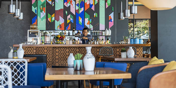 Bar at SugarSand Seminyak, Bali