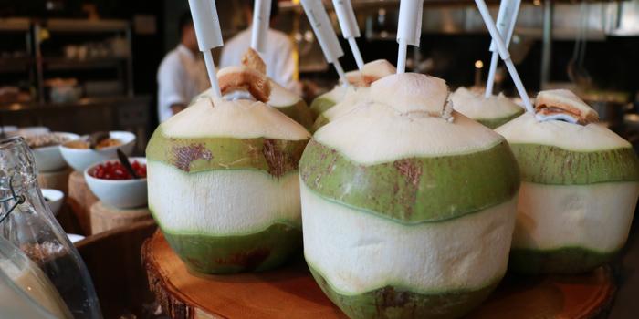 Fresh Coconut from Elefin at 3/250 Soi Mahadlekluang 2 Rajadamri Road, Patumwan Bangkok