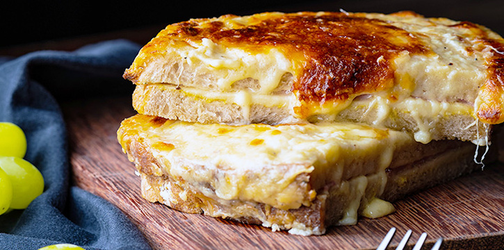 Croque Monsieur from LQV Le Quinze Vins in Telok Ayer, Singapore