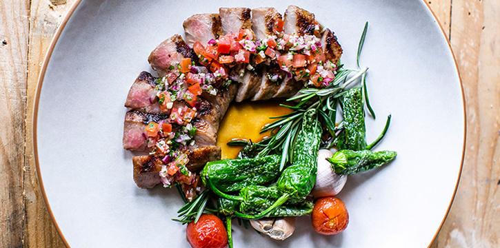Grilled Secreto Iberico Pork from Olivia Restaurant & Lounge in Keong Saik, Singapore
