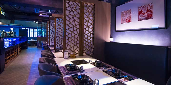 Dining Area, Wulu Bar & Restaurant, Tsim Sha Tsui, Hong Kong