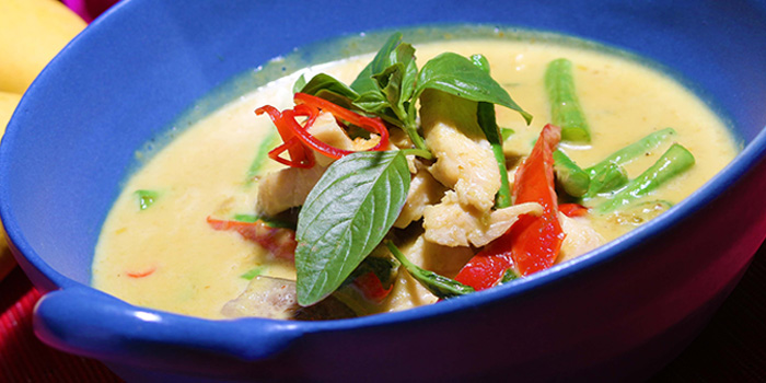 Green Chicken Curry, Baan Thai, Central, Hong Kong