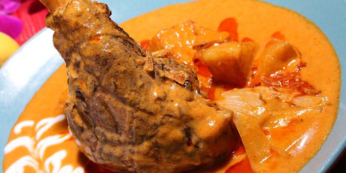 Lamb Shank Curry, Baan Thai, Central, Hong Kong