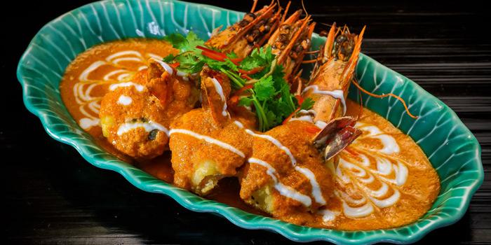 Panang Goong from Erawan Tea Room Restaurant at Grand Hyatt Erawan, Bangkok