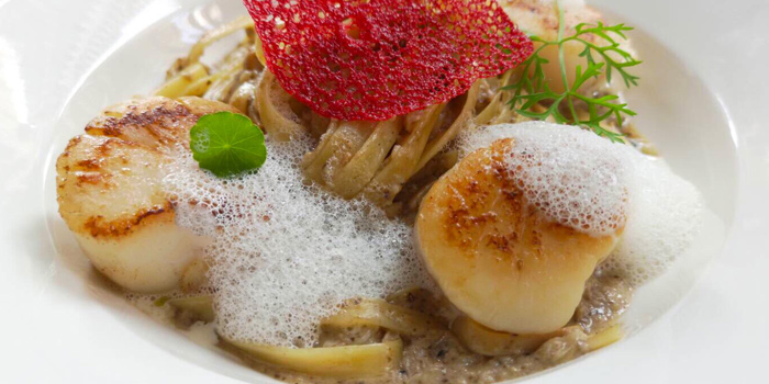 Pasta Scallops from The Ninth Cafe