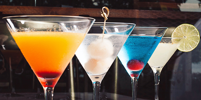 Signature Cocktails from Inspirit House at The Punggol Settlement in Punggol, Singapore