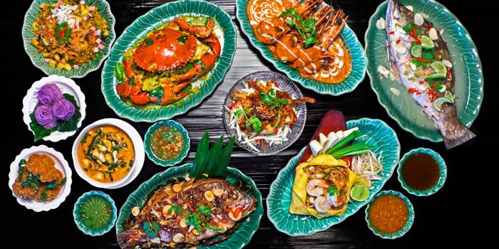 Signature Dishes from Erawan Tea Room Restaurant at Grand Hyatt Erawan, Bangkok